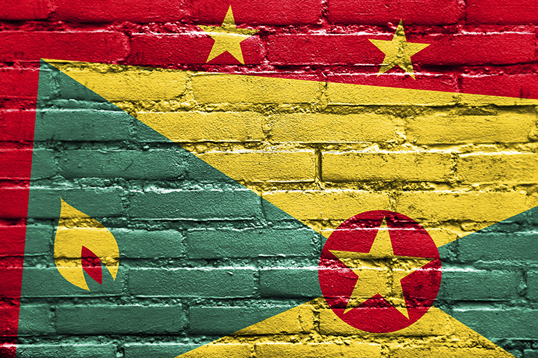 Grenada-Flag-painted-on-brick-wall-000046145398_Double